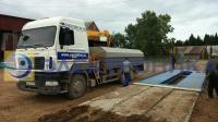 Поставка, монтаж и поверка автомобильных весов ВАЛ-30-8 для ООО