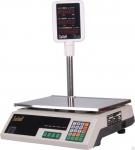 Весы торговые электронные со стойкой SL-202P-30 LED, светодиодный дисплей