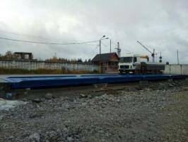Поставка, монтаж и настройка автомобильных весов ВАЛ-СТАЛИНГРАД 100 тонн, 24 метра для ПАО «Горнозаводскцемент».