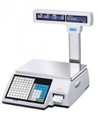 Торговые весы с печатью этикеток CL-5000J-15IS