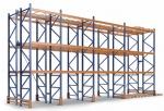 Паллетные складские стеллажи 2,5-5 тонн на уровень