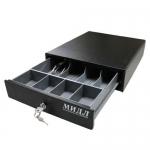 Денежный ящик компактный Мидл 3-ячейки