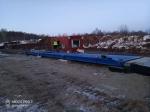 Компания «Электроника» завершила монтаж автомобильных весов Вали-Сталинград 80-18