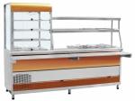 Прилавок-витрина холодильный мармитный универсальный ПВХМ-70КМУ