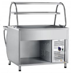 Прилавок для холодных закусок ПВВ(Н)-70М-НШ