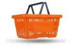 Корзины покупательские пластиковые