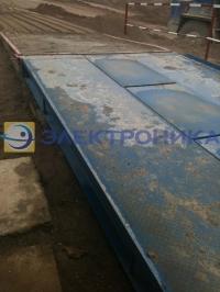Поставка и установка автомобильных весов грузоподъемностью 60 т для ООО