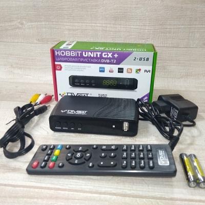 Приемник цифровой эфирный DVS-T2+C HOBBIT IRON GX