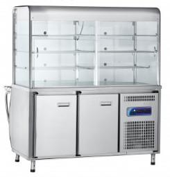 Прилавок для холодных закусок ПВВ-70М-С-ОК