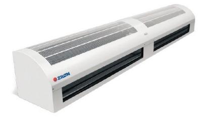 Водяные тепловые завесы Zilon серии ZVV - W