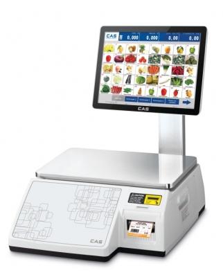 Торговые весы с печатью этикеток CAS CL7000-06S/CL7000-15S/CL7000-30S