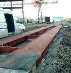 В Кирове наши специалисты завершили проект по вводу в эксплуатацию автомобильных весов МВСК-УВ 60КН (16х3)