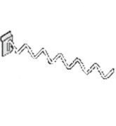 Кронштейн змейка