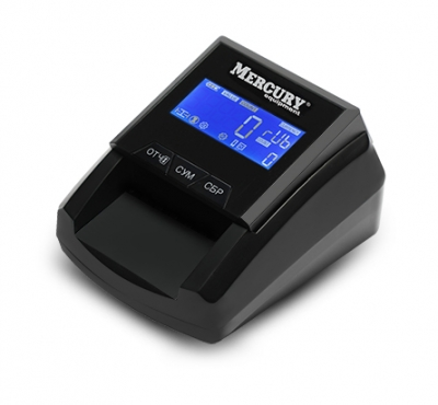 Детектор банкнот Mercury D-20A FLASH PRO LCD