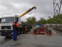 Завершен проект по установке автомобильных колейных весов МВСК-УВ 80КН (18х3) для компании OОО «КУБ-Стройкомплекс»