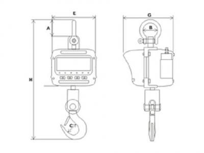 Весы крановые ЕК-А-3