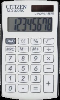 Калькулятор CITIZEN карманный SLD-322BK