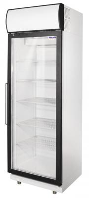 Холодильные шкафы из нержавеющей стали со стеклянными дверьми POLAIR