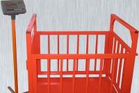 Платформенные животноводческие весы МВСК-0,3 размер0,75 x 1,0 высота 94-114