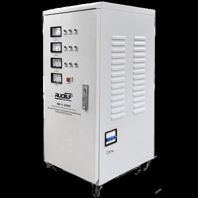 Стабилизатор напряжения Rucelf SDV-3-20000