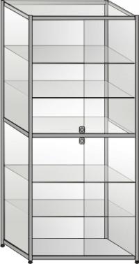 Витрина торговая стеклянная